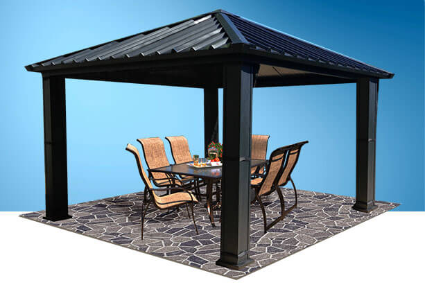 Garden Shed Gazebo And Sun Shelter Piscines Ren 233 Pitre