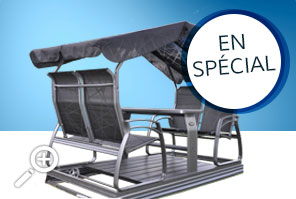 Savini 4 seater swing at $ 1149.99 by Piscines René Pitre