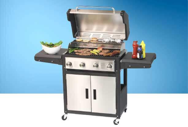 barbecue infrarouge gaz
