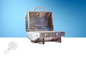 Barbecue portatif 12,000 BTU