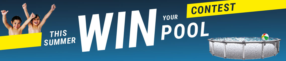 Win your above-ground pool's contest with Piscines René Pitre