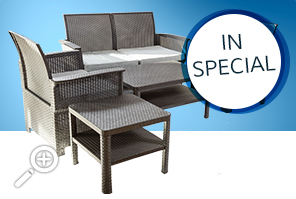 PVC Conversation Set at $ 699.99 by Piscines René Pitre