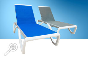 Lounge chairs by Piscines René Pitre