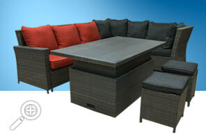King Sectional set by Piscines René Pitre