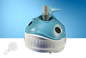 Wally the whale automatic above-ground swimming pool cleaner