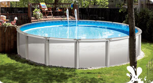 Above-ground pool opening and closing service