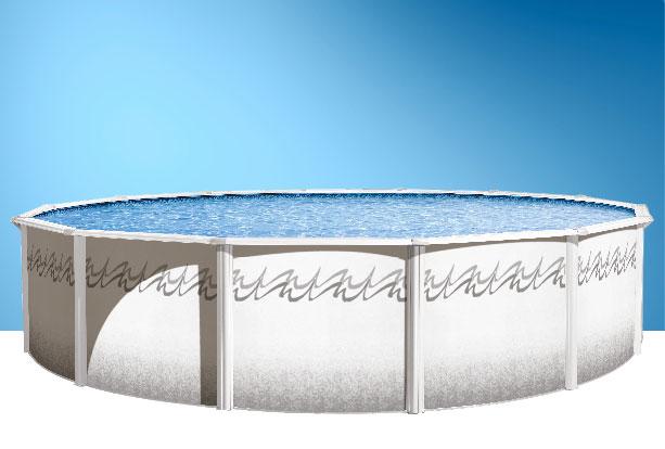 Piscine hors terre ronde ou ovale de piscines ren pitre for Promotion de piscine