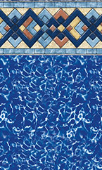 In-ground swimming pool liner Charleston Prism