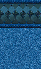 In-ground swimming pool liner Ocean Barolo Natural Blue