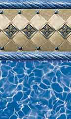 Above-ground swimming pool liner Royal Heritage Prism