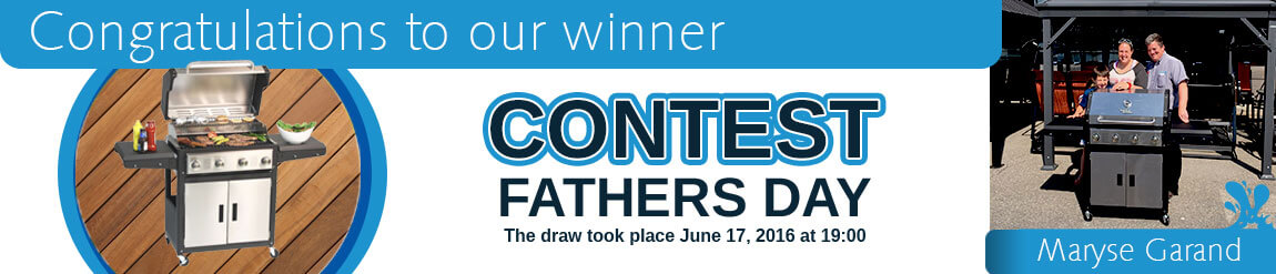 Contest winner Father's Day